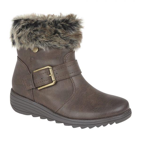 Brown Brush Boot (L005B)