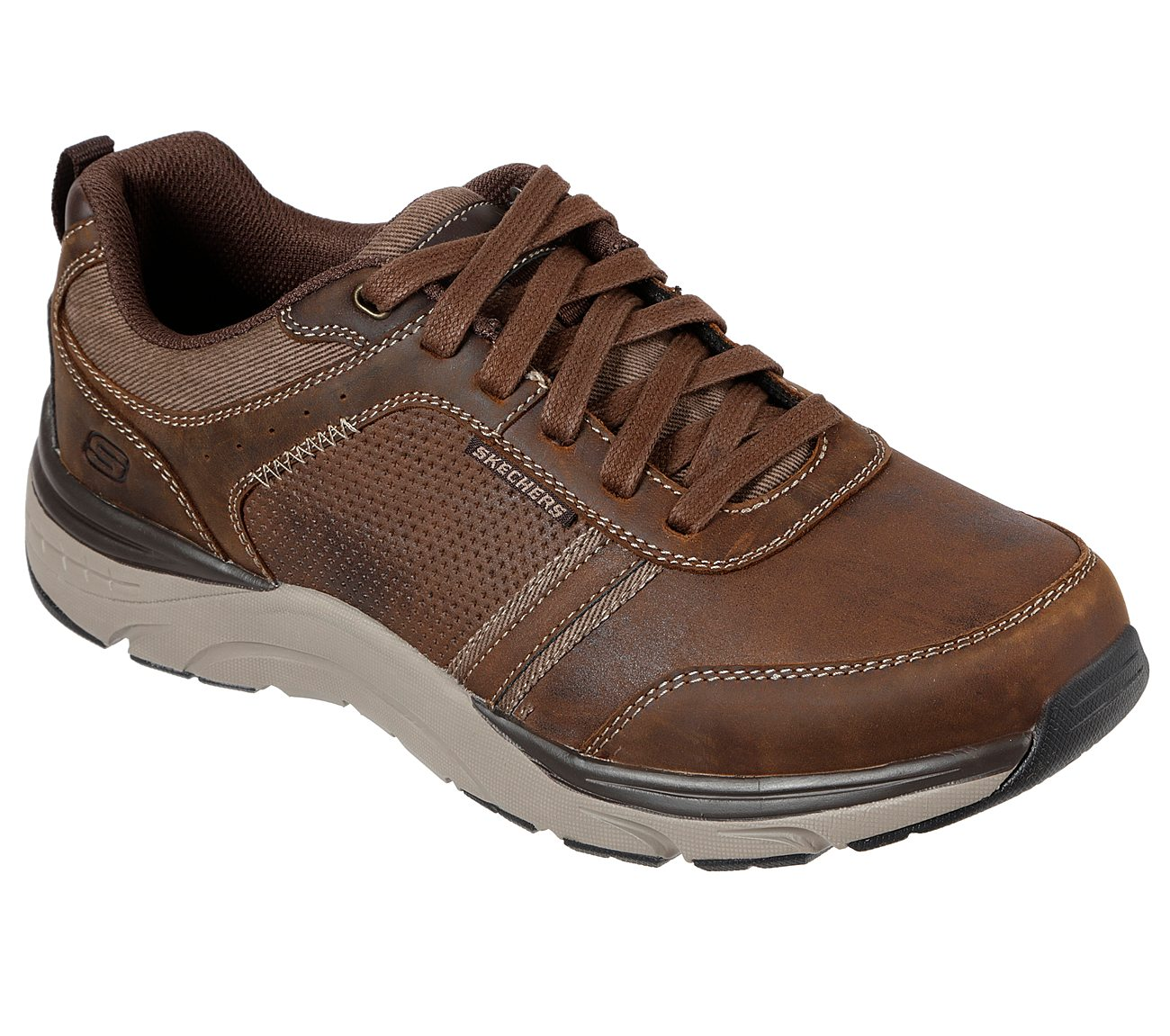 Skechers RELAXED FIT: SENTINAL LUNDER Brown (66293)